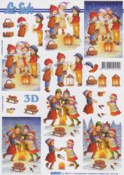Le Suh kerst knipvel 4169917 (Locatie: 2530)
