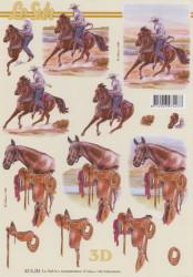 Le Suh knipvel cowboy 8215283 (Locatie: 2742)
