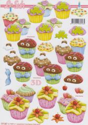 Le Suh knipvel cupcake 777461 (Locatie: 1427)