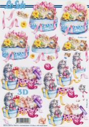 Le Suh knipvel Katten 8215726 (Locatie: 4433)