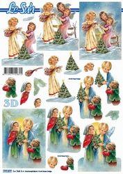 Le Suh knipvel Kerst kinderen 777577 (Locatie: 1103)