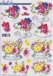 Le Suh stansvel bloemen 680029 (Locatie: 1434)