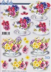 Le Suh stansvel bloemen 680029 (Locatie: 6341)
