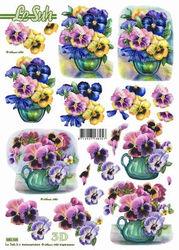 Le Suh stansvel bloemen 680106 (Locatie: 703)