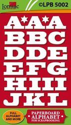 Lomiac kartonnen Alfabet LPB5002 (Locatie: 4831)