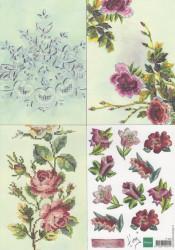 Marianne Design handmade bloemen IT548 (Locatie: 0509)