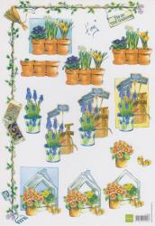 Marianne Design knipvel bloemen IT508 (Locatie: 5535)