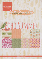 Marianne Design Pretty Papers Bloc Boho summer A5 PK9148