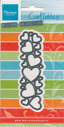 Marianne Design snij- en embosmal Hearts CR1322 (Locatie: Q049)