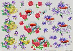 Mireille knipvel bloemen E633 (Locatie: 0534)