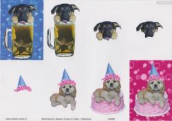 Nielsen Cards knipvel honden KA009 (Locatie: 5837)