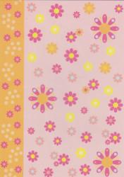 Pergamano vellum bloemen nr. 62547 (Locatie: 1733)