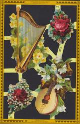 Poezieplaatje Muziekinstrumenten MLPA76 (Locatie: MP057)