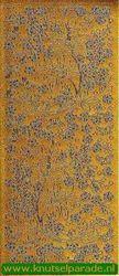 Starform stickervel goud bloemen 123 (Locatie: F093 )
