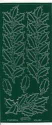Starform stickervel kerstmis groen 990 (Locatie: u201)