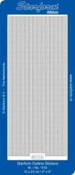 Starform stickervel lijnen goud 1104 (Locatie: u242)
