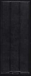 Starform stickervel randjes zwart 1016 (Locatie: ZZ104 )