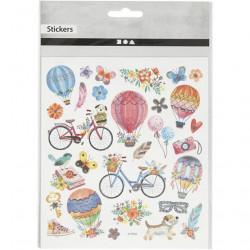 Stickers, vel 15x16,5 cm, 29076 (Locatie: 0514)