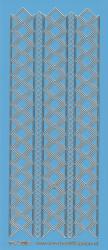 Stickervel blauw/goud nr. 3019 (Locatie: K142 )
