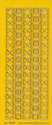Stickervel donkergeel/goud nr. 3021 (Locatie: K164)