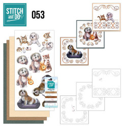 Stitch and Do 53 huisdieren STDO053