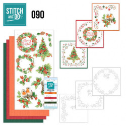 Stitch and Do 90 Fijne Kerst STDO090