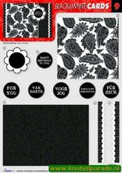 Studio Light black&white cards 09 (Locatie: 942)