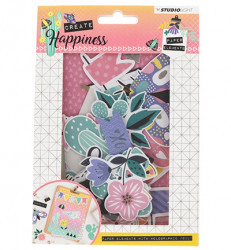 Studio Light Easy Die Cut Paper Set Create Happiness EASYCR648 (Locatie: s2)