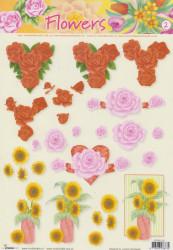 Studio Light knipvel bloemen nr. STAPFL 02 (Locatie: 5009)