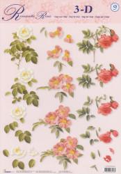 Studio Light knipvel bloemen STAPROSES09 (Locatie: 0122)