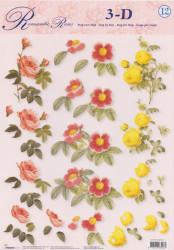 Studio Light knipvel bloemen STAPROSES12 (Locatie: 0211)