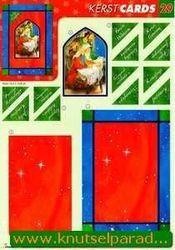 Studio Light knipvel kerst cards 29 (Locatie: 2726)