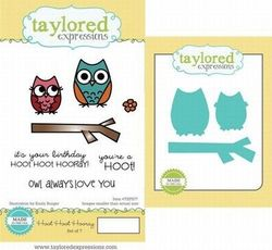 Taylored Expressions rubberen stempels & mallen TEPS77 (Locatie: 4RS5 )