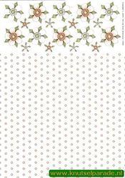 Tierelantijntje knipvel bloemen 3309 (Locatie: 4720)