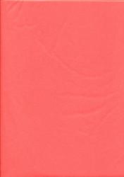 Tissuepapier oranjerood 50 x 70 cm per vel