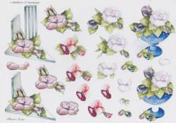 Wekabo knipvel bloemen 717 (Locatie: 2333)