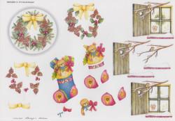 Wekabo knipvel kerstmis 613 (Locatie: 6620)