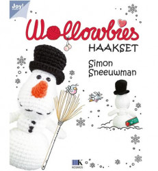 Wollowbies haakset - Simon Sneeuwman