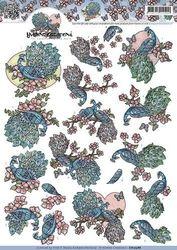 Yvonne Creation's knipvel pauw CD10388 (Locatie: 4805)