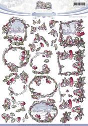 Yvonne Creations knipvel kerstmis CD10519 (Locatie: 4308)