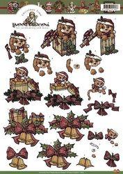 Yvonne Creation's knipvel kerst HJ8101 (Locatie: 4802)
