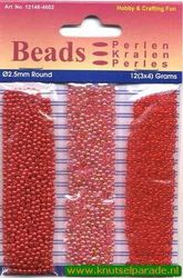 Hobby & Crafting Fun beads 2,5 mm 12146-4602 (Locatie: K3)