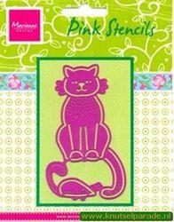 Marianne Design pink stencils PK 9005 (Locatie: D01 )