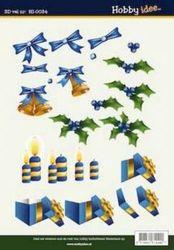 Hobby Idee knipvel kerst HI 0034 (Locatie: 928)