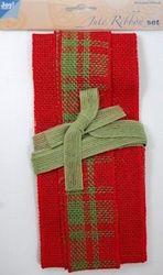 Joy Crafts jute ribbon set 6300 0502 (Locatie: k3)
