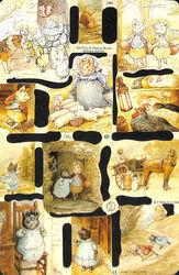 Poezieplaatje The Tale of Pigling Bland van Beatrix Potter MLP1784 (Locatie: MP068)