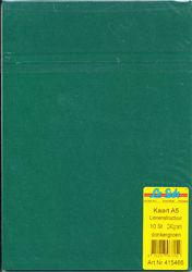 Le Suh kaarten A5 linnenstructuur donkergroen 10 stuks 415466 (Locatie: 1RB4)