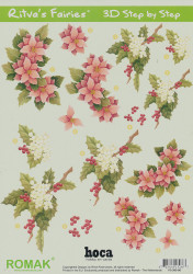 Romak knipvel bloemen nr. PO 300 06 (Locatie: 5004)