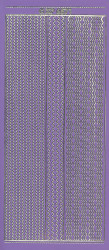 Sticerkvel rand paars/goud XP6571 (Locatie: f111)