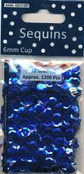 Sequins Regular Blue Cup 12212 1207 (Locatie: 1d )